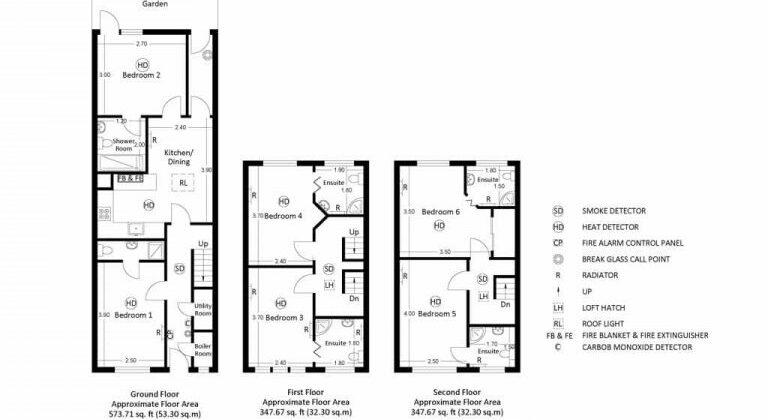 HMO Floor Plan