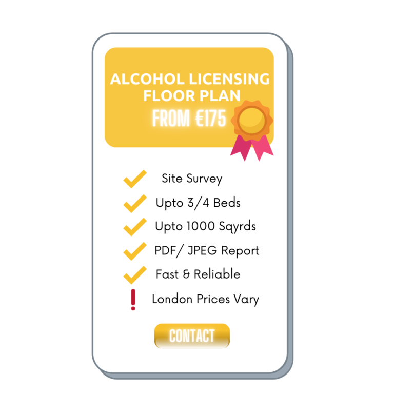 Alcohol Licensing Floor Plan